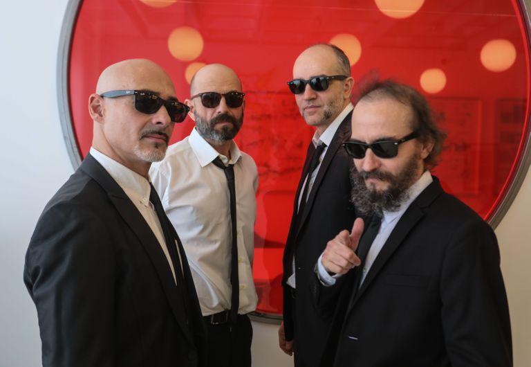 El grupo Los Enemigos esta semana en Madrid.