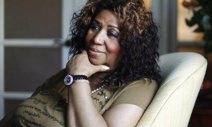 La cantante Aretha Franklin.