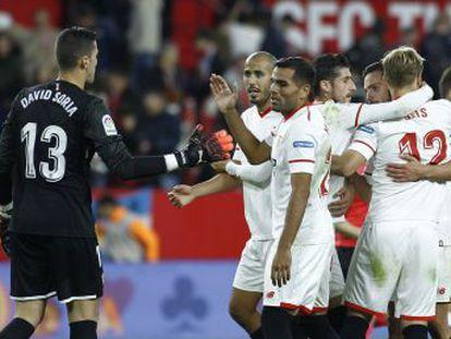 Tercera victoria consecutiva del cuadro andaluz, sostenido por Nolito y Krohn-Dehli