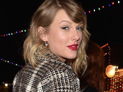 Taylor Swift en el festival de Sundance celebrado en enero de 2020 en en Park City, Utah.