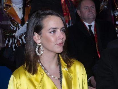 Pauline Ducruet, en Mónaco, el pasado enero.