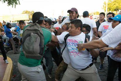 En Managua los enfrentamientos causaron al menos ocho heridos.