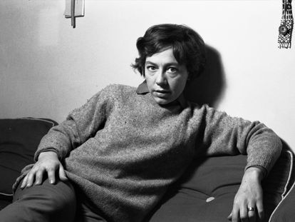La poeta Alejandra Pizarnik, en un retrato sin datar.