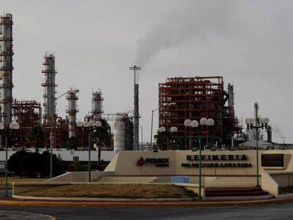 Refinería de Pemex en Cadereyta, Nuevo Leon