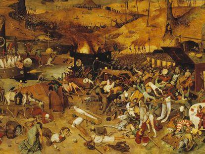 'El triunfo de la muerte', de Pieter Brueghel el Viejo, refleja el clima de terror tras la peste negra.
