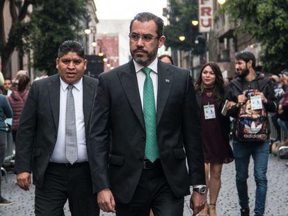 Jesús Orta, secretario general de la Policía Federal entre 2012 y 2014, en septiembre de 2019.