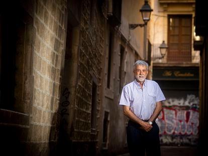 El neurocientífico Ignacio Morgado, en Barcelona, el pasado 8 de julio.