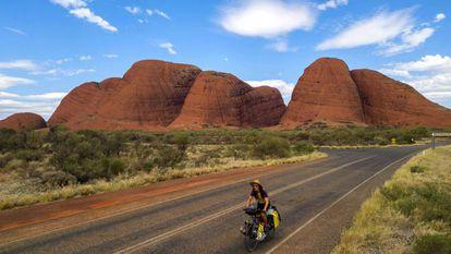 Al corazón de Australia.
