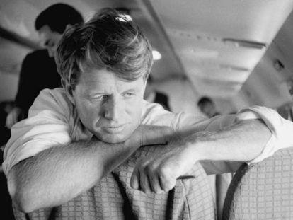 El senador Robert F. Kennedy en noviembre del 1966.