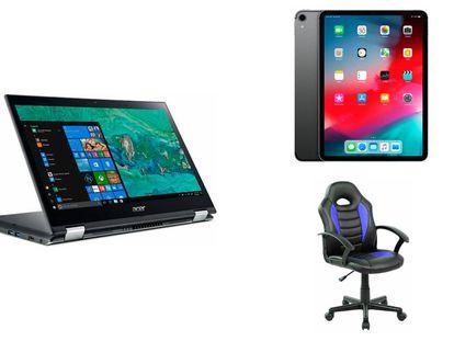 Encuentra ofertas en portátiles, tablets, sillas y más artículos para la vuelta al cole.