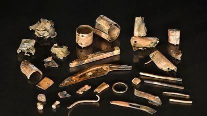 Objetos fragmentados o inacabados de la Edad de Bronce encontrados en el norte de Alemania