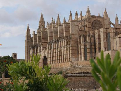 Una imagen de la catedral de Mallorca