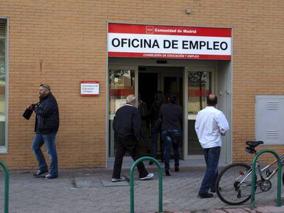 Una oficina del Inem en Madrid.