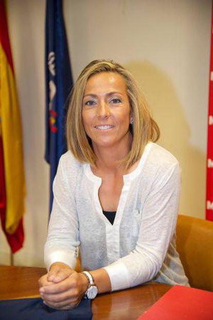 Gala León, durante su presentación como nueva directora de la RFET.