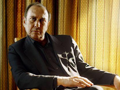 El dramaturgo británico y premio Nobel de Literatura Harold Pinter, retratado en 2003.