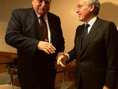 Ricardo Fornesa y Manuel Pizarro.