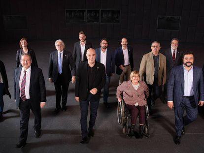 En la imagen, los 15 integrantes del Consejo Asesor de la empresa Agbar.