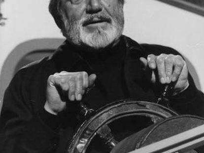 Antonio Ferrandis, como Chanquete, en 'Verano azul'.