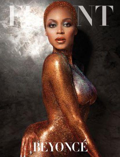 La cantante Beyoncé.