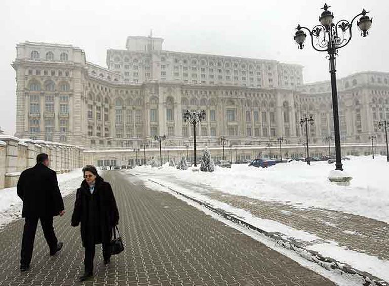 Imagen de Bucarest realizada a primeros de este mes.