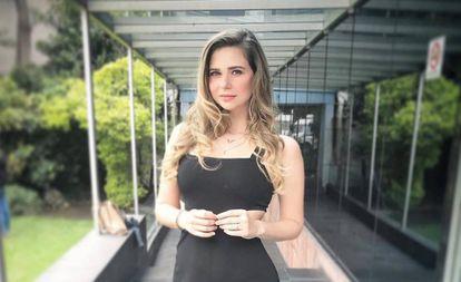La conductora de radio y televisión Ana Lucía Salazar.