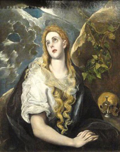 'Magdalena penitente', de El Greco.