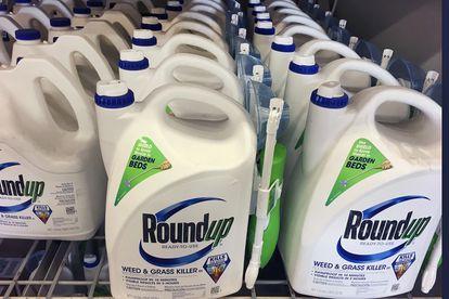 Envases de Roundup, la marca con la que Monsanto comercializa el glifosato.