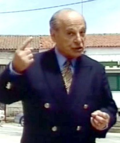 Saraiva, presentando su programa.