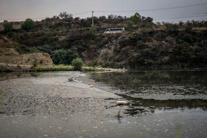 La Represa Madin, en el estado de México, el 27 de abril de 2021.