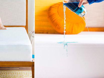 Este protector de colchón impermeable e hipoalergénico tiene más de 49,000 calificaciones