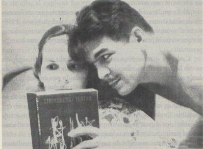 Aleida March y el Che Guevara en Tanzania, en 1966.
