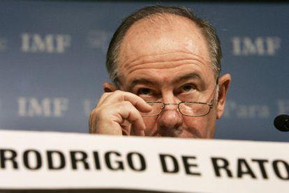 Rodrigo Rato, durante su etapa como director gerente del Fondo Monetario Internacional.