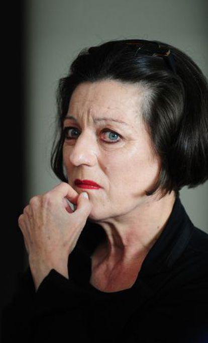 Herta Müller, premio Nobel de Literatura en 2009.
