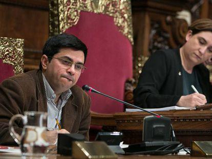 El primer teniente de alcalde, Gerardo Pisarello.