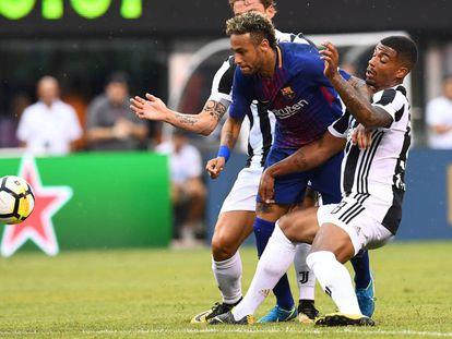 El Barcelona vence a la Juventus en el partido de la International Champions Cup