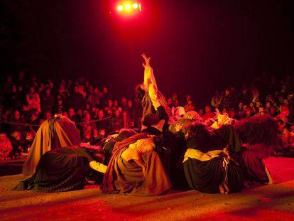 Una imagen del Ball de bruixes de Viladrau.