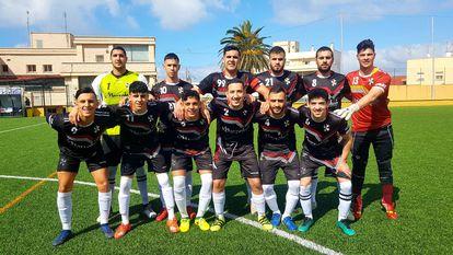 Once de la AUGC Deportiva Ceuta de esta tamporada.