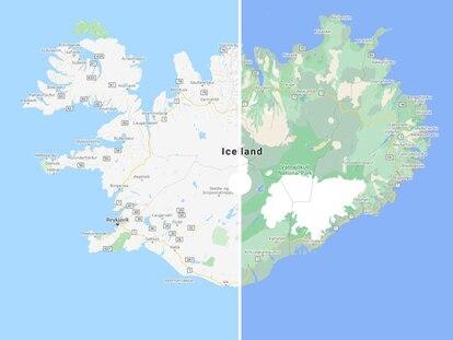 Los distintos paisajes de Islandia se vuelven más fáciles de interpretar en el nuevo sistema