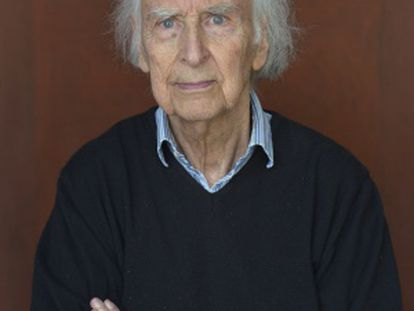 Arnaldo Calveyra en un retrato de marzo de 2014.