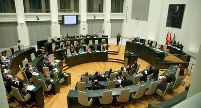 El pleno del Ayuntamiento de Madrid.
