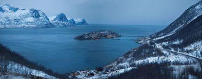 La minúscula isla de Husoya, en medio de un fiordo del archipiélago de las Lofoten, vive esencialmente de la pesca.