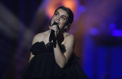 Amaia Romero en la gala de los Goya, el 2 de febrero de 2019.
