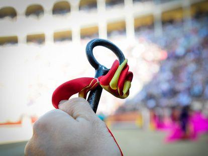 Llave de toriles simbólica de la plaza de Las Ventas.