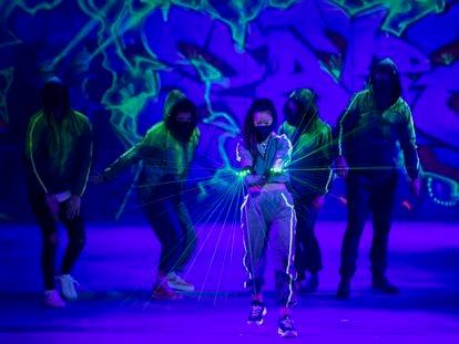 Una de las escenas de la producción musical que pretende renovar la zarzuela.