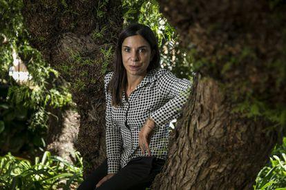 La escritora Antonella Lattazi, la semana pasada en Barcelona.