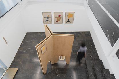 Vista de la exposición Idea as Model, de Irma Álvarez-Laviada, en la galería Luis Adelantado, en Valencia.