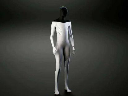 Proyecto de robot humanoide de Tesla.