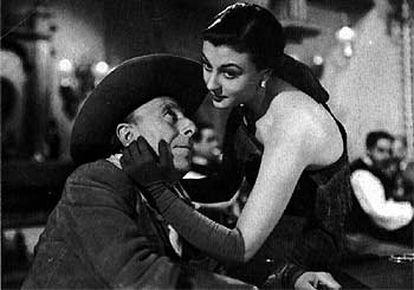 José Isbert y Lolita Sevilla, en una escena de <i>Bienvenido Mr. Marshall,</i> de Luis García Berlanga.