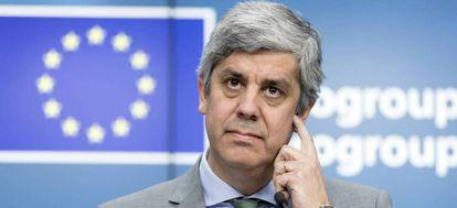 El exministro de finanzas portugués y expresidente del Eurogrupo, Mario Centeno.