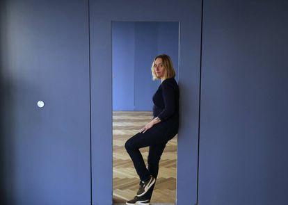 La escritora francesa Virginie Despentes, retratada en Madrid en 2018.